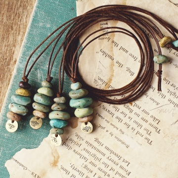 cairn necklaces