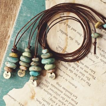 cairn necklaces
