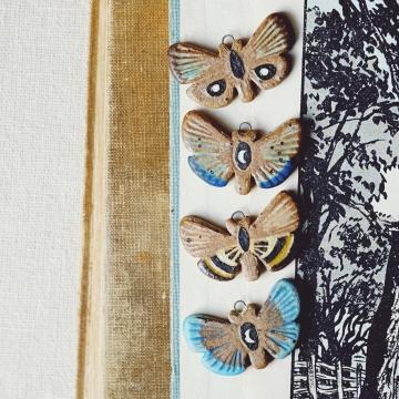 Sgraffito Moths