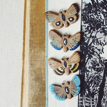 Sgraffito Moths