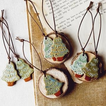 Evergreen Ornaments