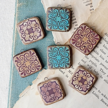 granada tile pendants