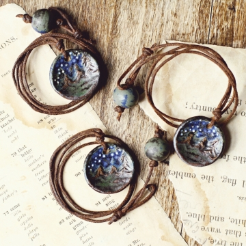 cosmos necklaces