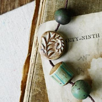 forest floor bead set