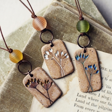 fresh herbs- necklaces